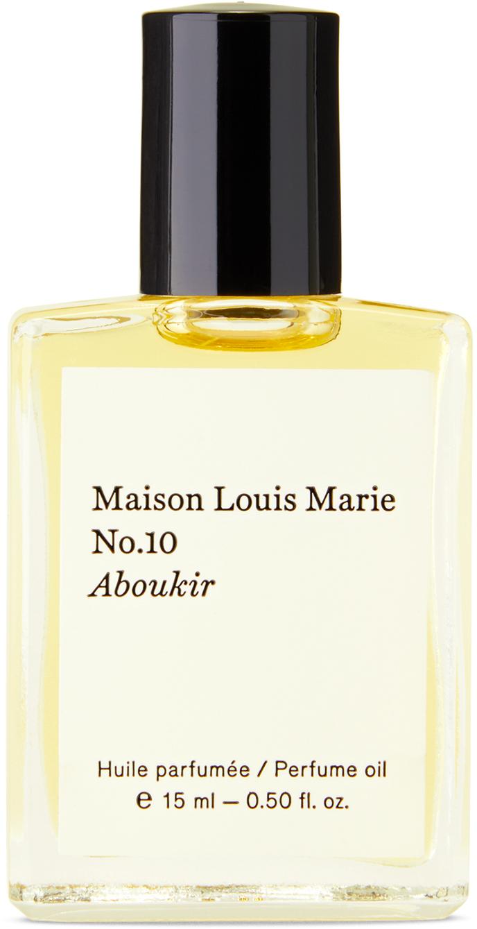 Photo: Maison Louis Marie No. 10 Aboukir Perfume Oil, 15 mL