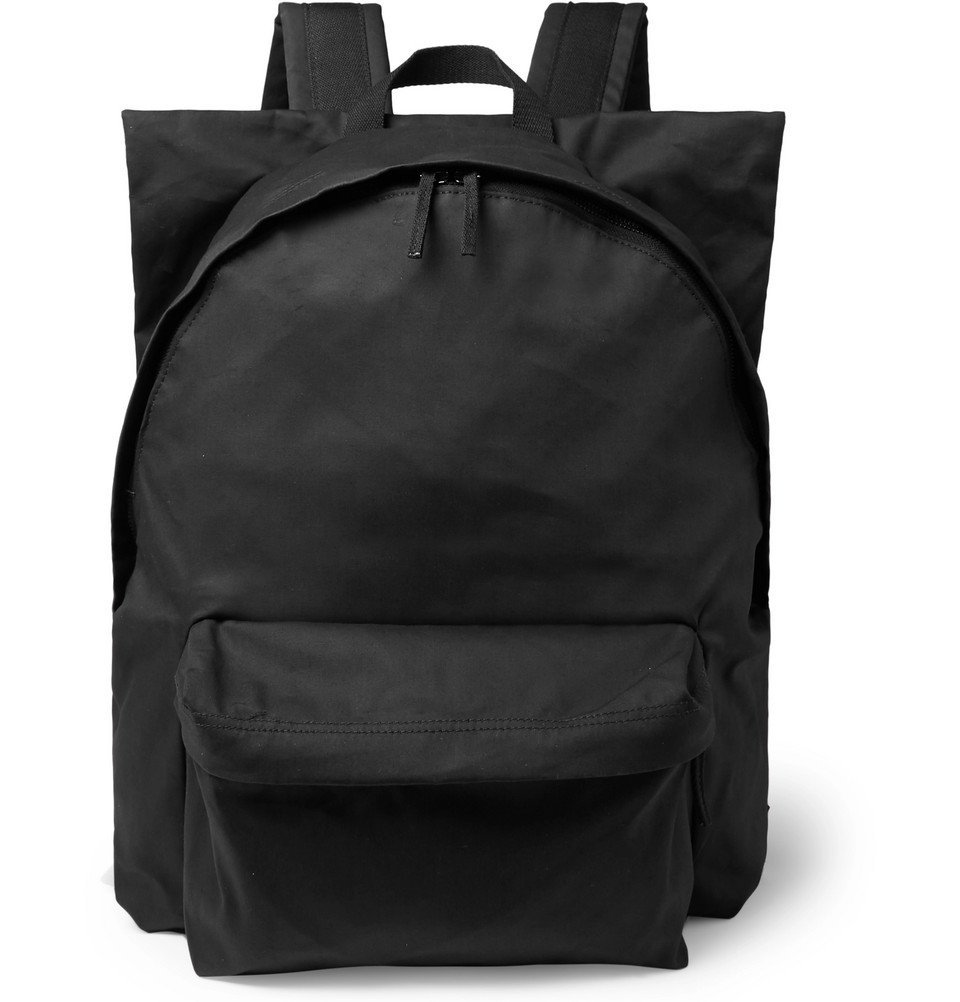 Raf Simons - Eastpak Printed Shell and Cotton-Canvas Backpack - Black