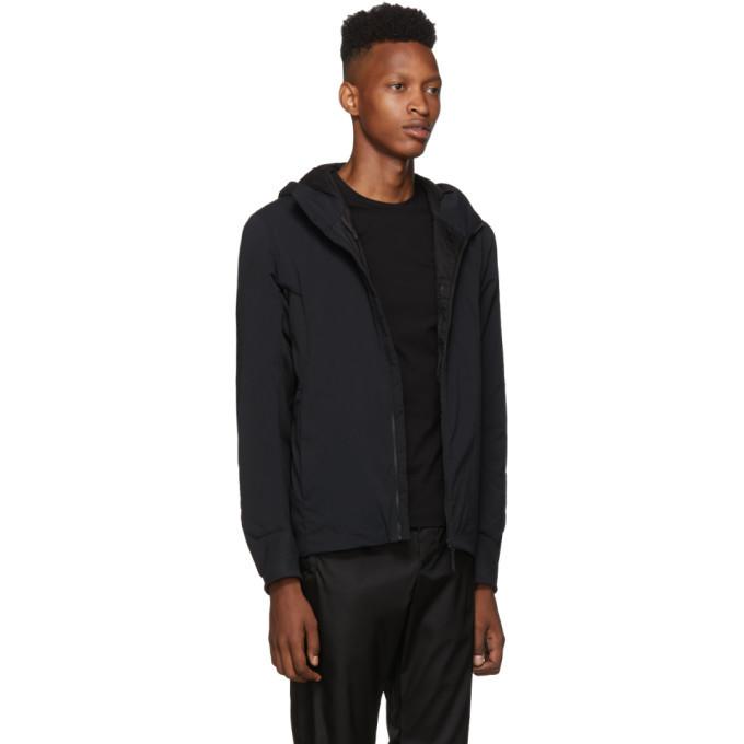 Veilance Black Mionn IS Comp Hoody Jacket