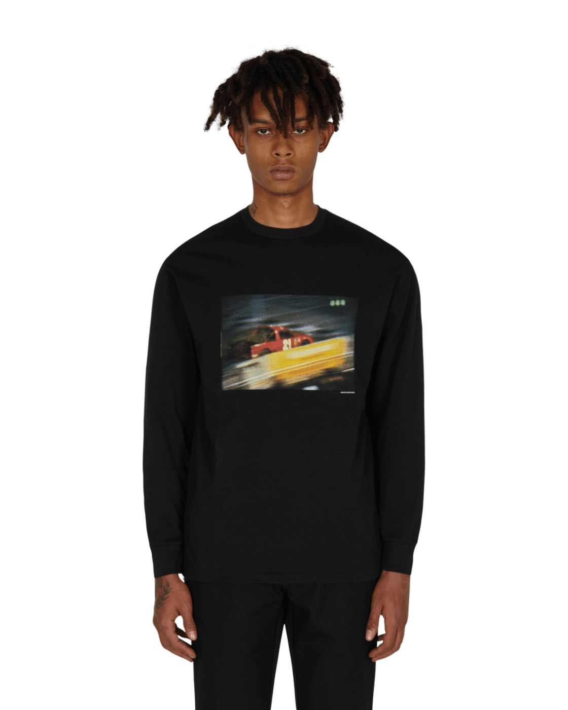 Photo: Vans Slam Jam X Julian Klincewicz Longsleeve T Shirt Black