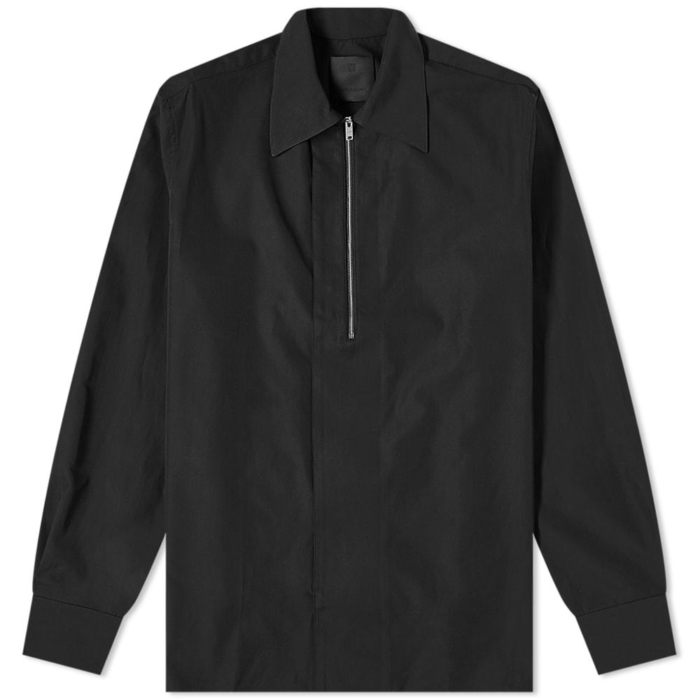 Photo: Givenchy Classic Fit Half Zip Shirt