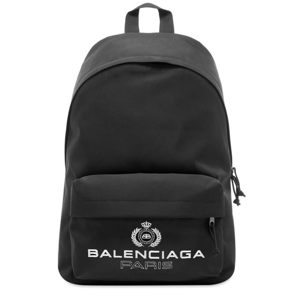 Photo: Balenciaga Paris Logo Backpack