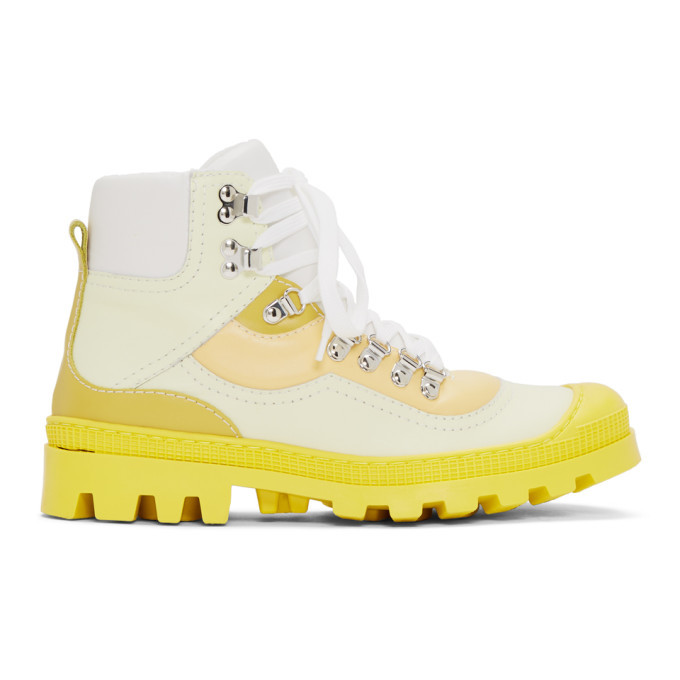 Photo: Loewe Yellow Hiking Boots