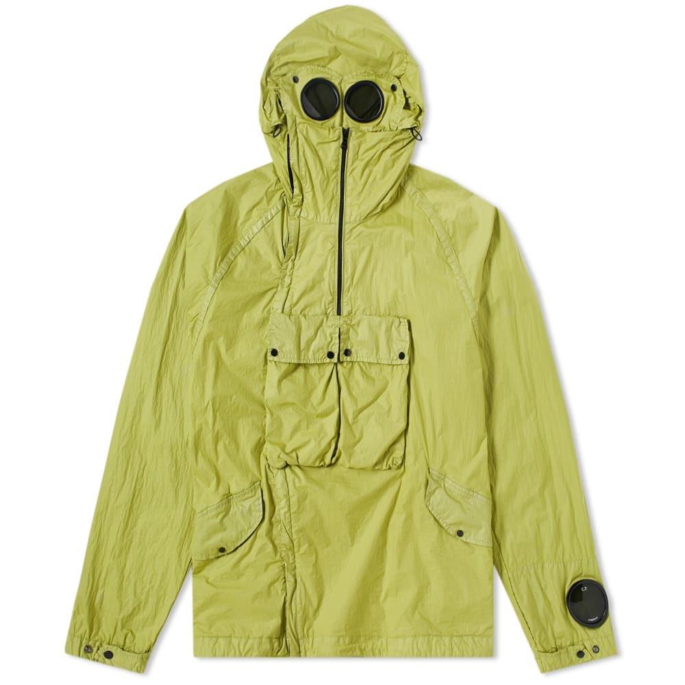 Photo: C.P. Company Nyfoil Pullover Goggle Parka Yellow