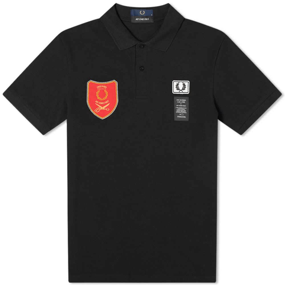 Photo: Fred Perry x Art Comes First Patch Polo