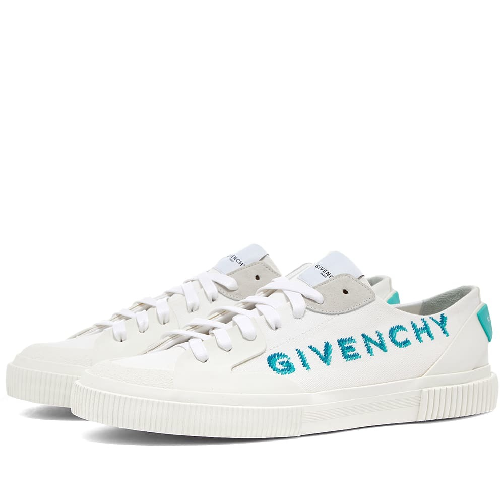 Photo: Givenchy Tennis Light Low Embroidered Logo Sneaker