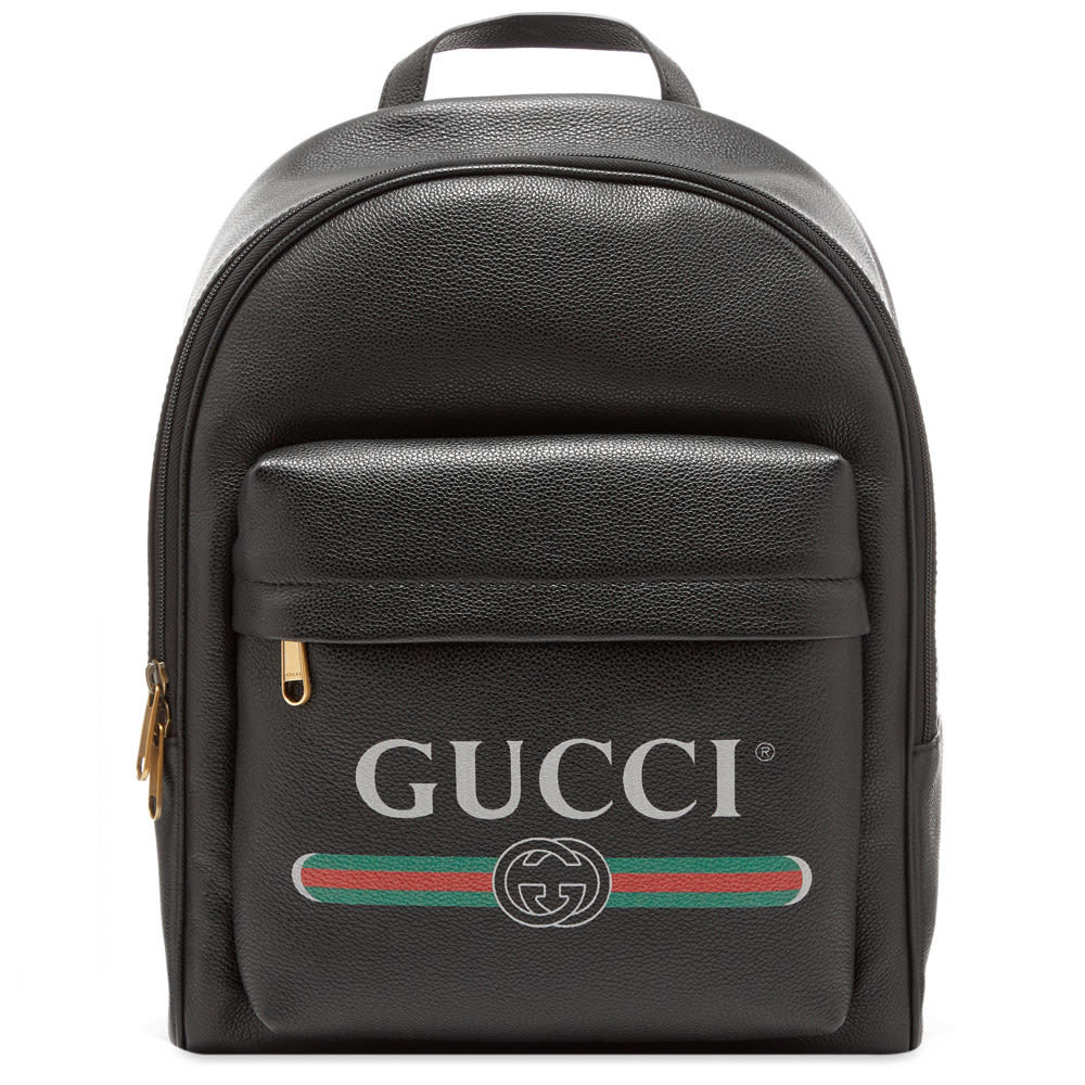 644e92a4d Gucci Beige GG Supreme XXV Hollywood Wolf Backpack Gucci