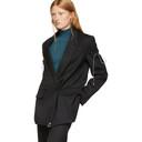Nina Ricci Black Arm Tie Blazer