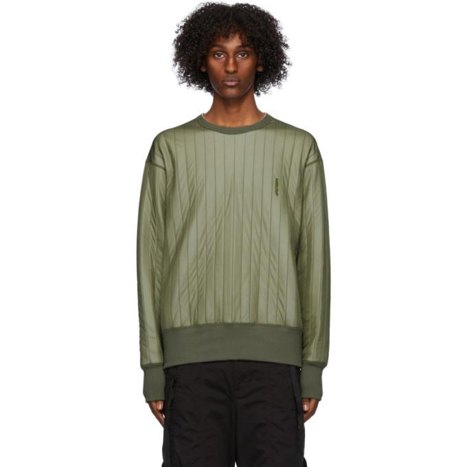 Photo: Ambush Green Padded Sweatshirt