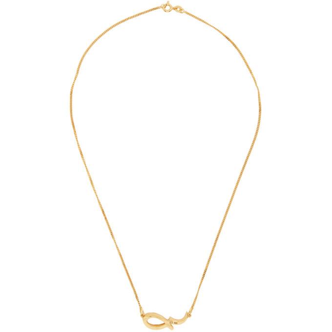 Photo: Dear Letterman Gold Sabr Pendant Necklace