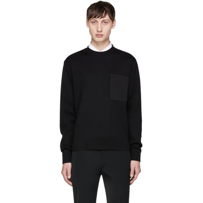 Photo: Prada Black Nylon Pocket Pullover