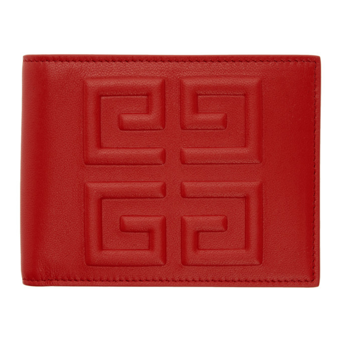 Photo: Givenchy Red 4G Logo Wallet