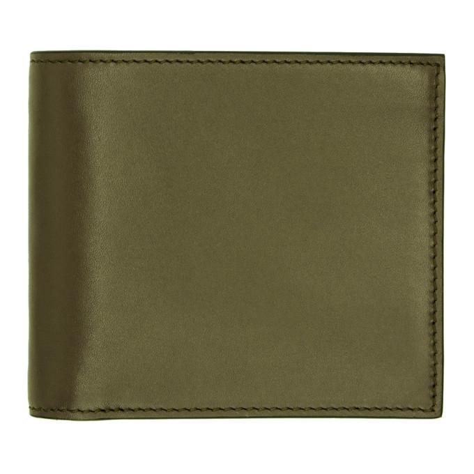 Photo: Smythson Green ID Pocket Bond Bifold Wallet