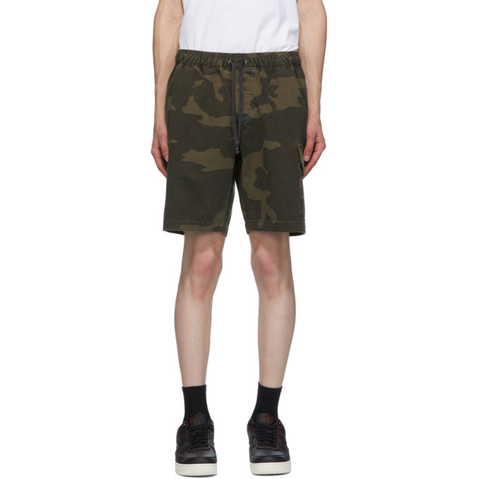 Photo: John Elliott Brown Utility Cargo Shorts