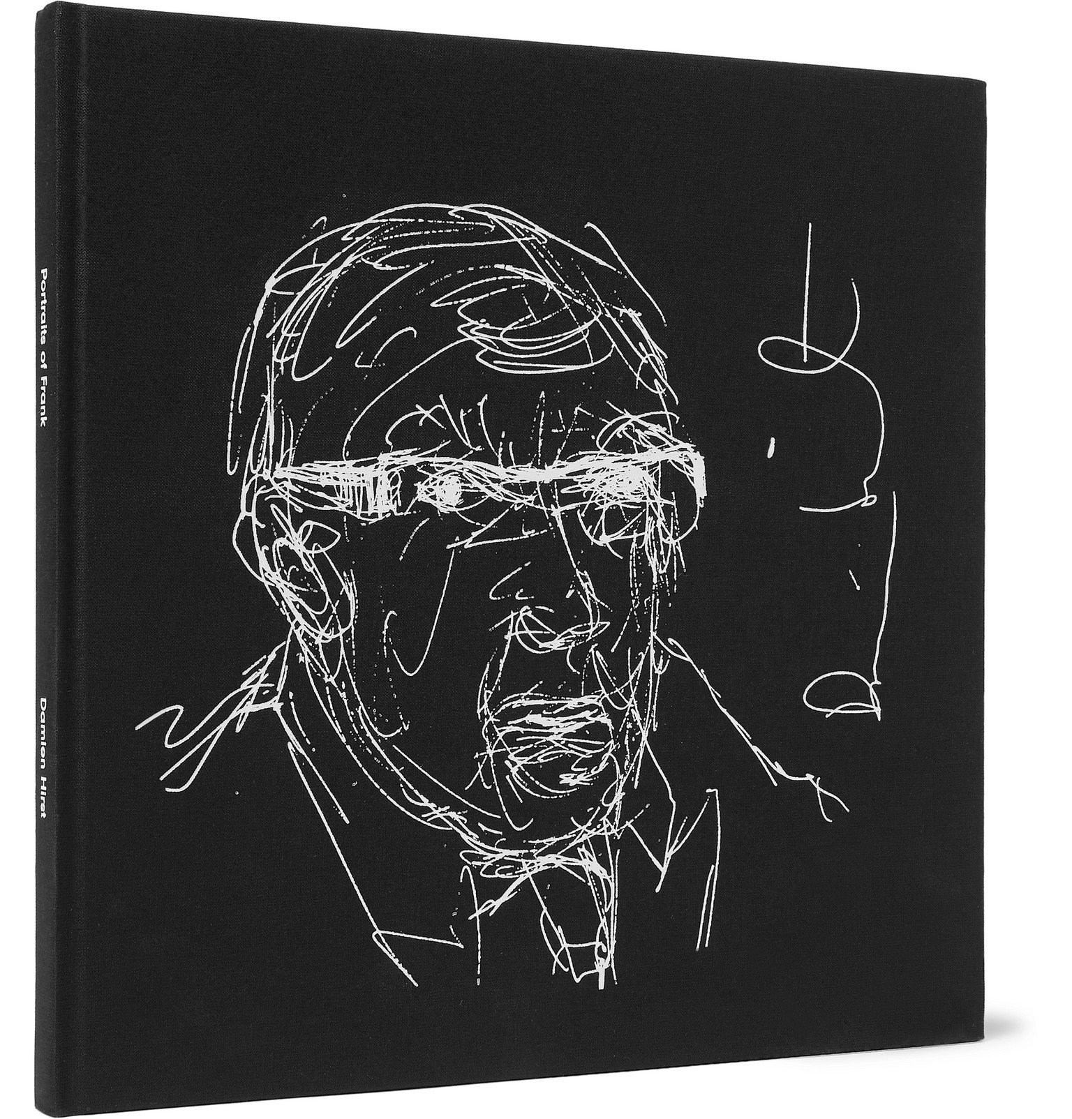Photo: The Wolseley Collection - Portraits of Frank: The Wolseley Drawings Hardcover Book - Black