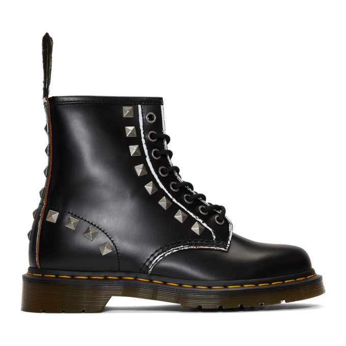 Photo: Dr. Martens Black 1460 Stud Boots