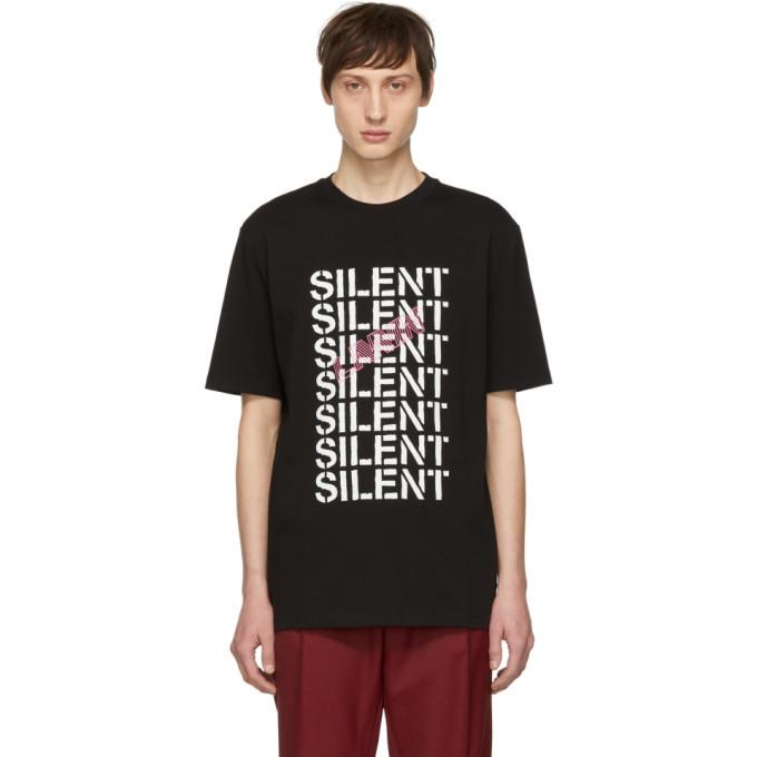 Photo: Lanvin Black Multi Silent T-Shirt