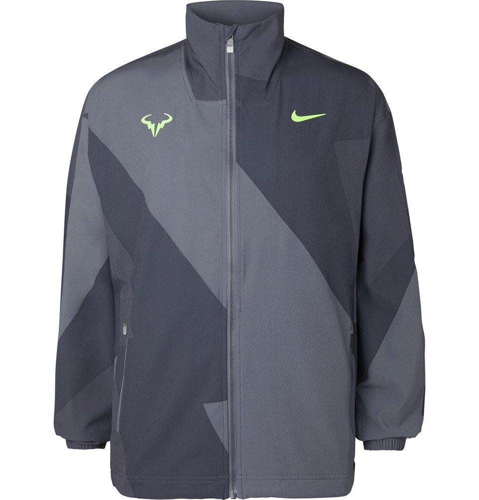 Photo: Nike Tennis - Rafa Printed Jacket - Gray