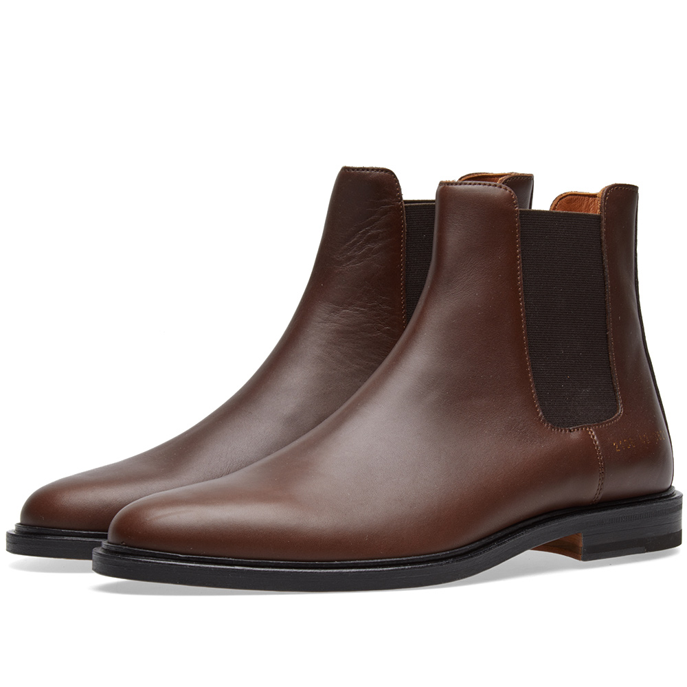 Common Projects Chelsea Boot Brown
