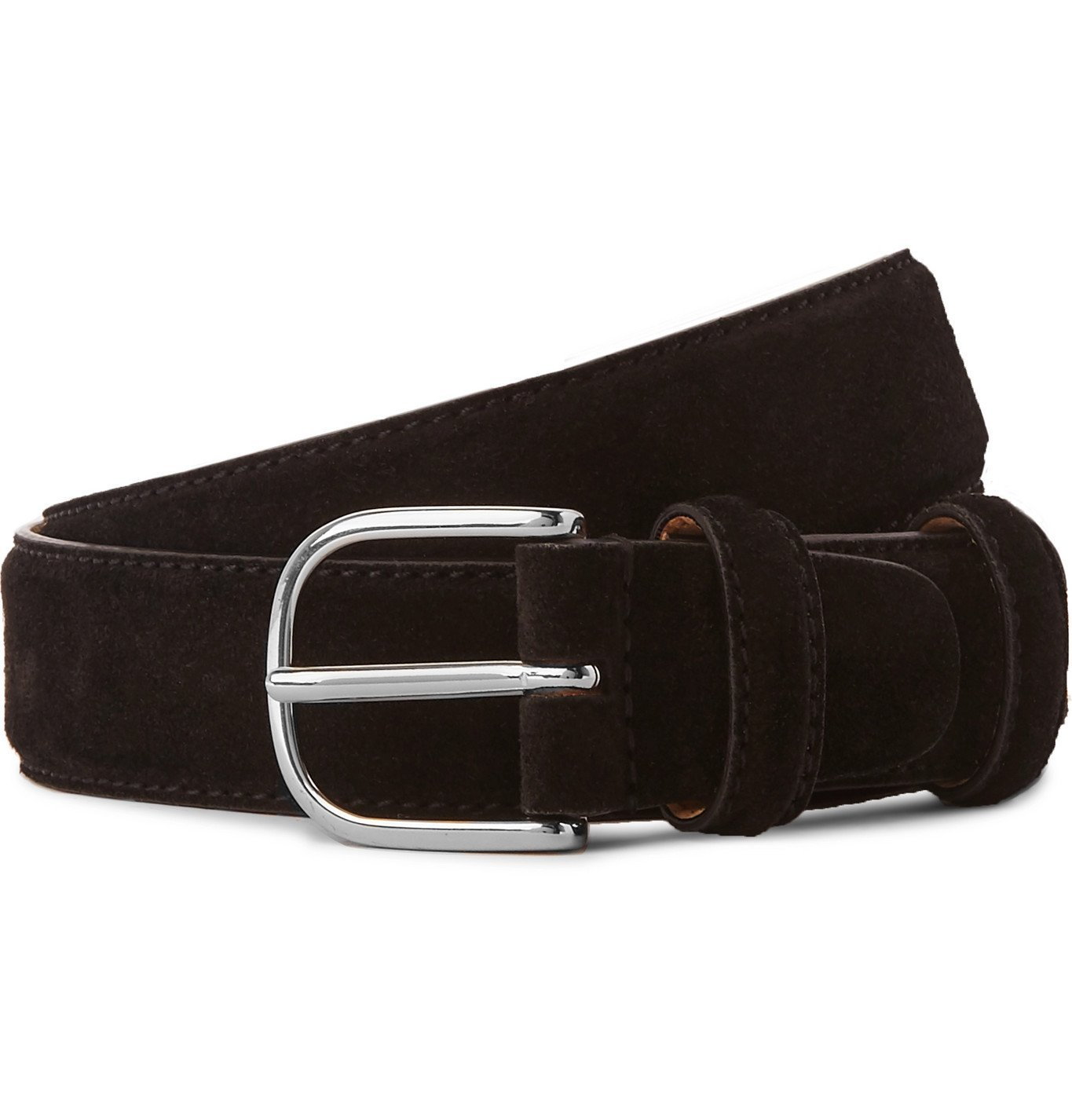 Photo: Mr P. - 3cm Suede Belt - Black