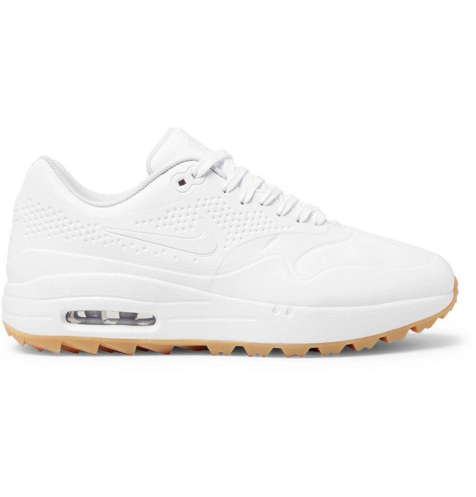 newest 62082 42d2a Nike Golf - Air Max 1G Coated Mesh Golf Shoes - White