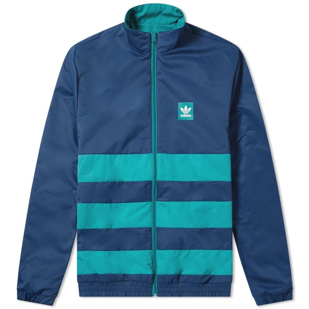 Photo: Adidas Reversible Weidler Jacket Collegiate Navy & Green