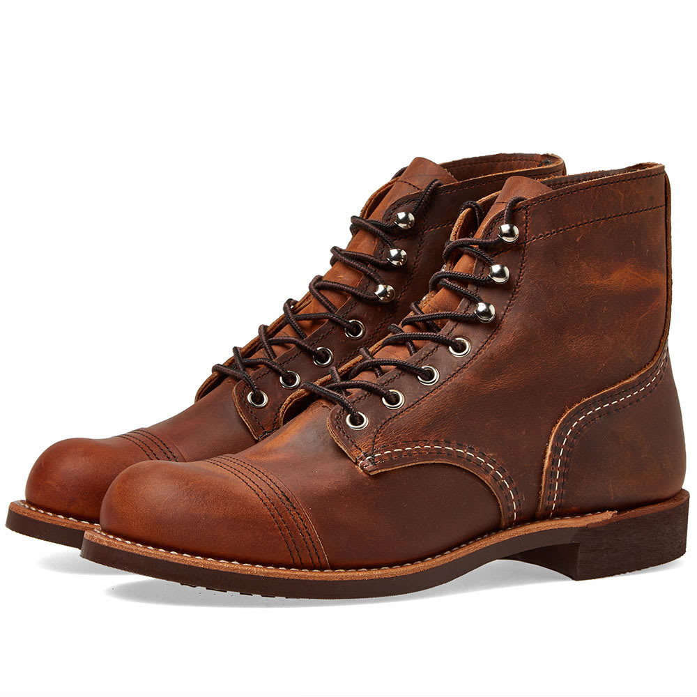 """Photo: Red Wing 8085 Heritage 6"""" Iron Ranger Boot Copper Rough & Tough"""