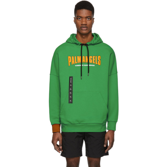 Photo: Palm Angels Green Yosemite Experience Hoodie