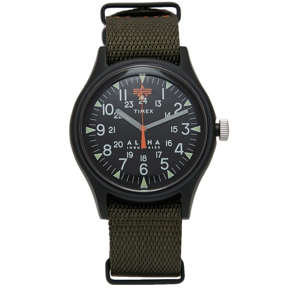 Photo: Timex x Alpha Industries MK1 Aluminium