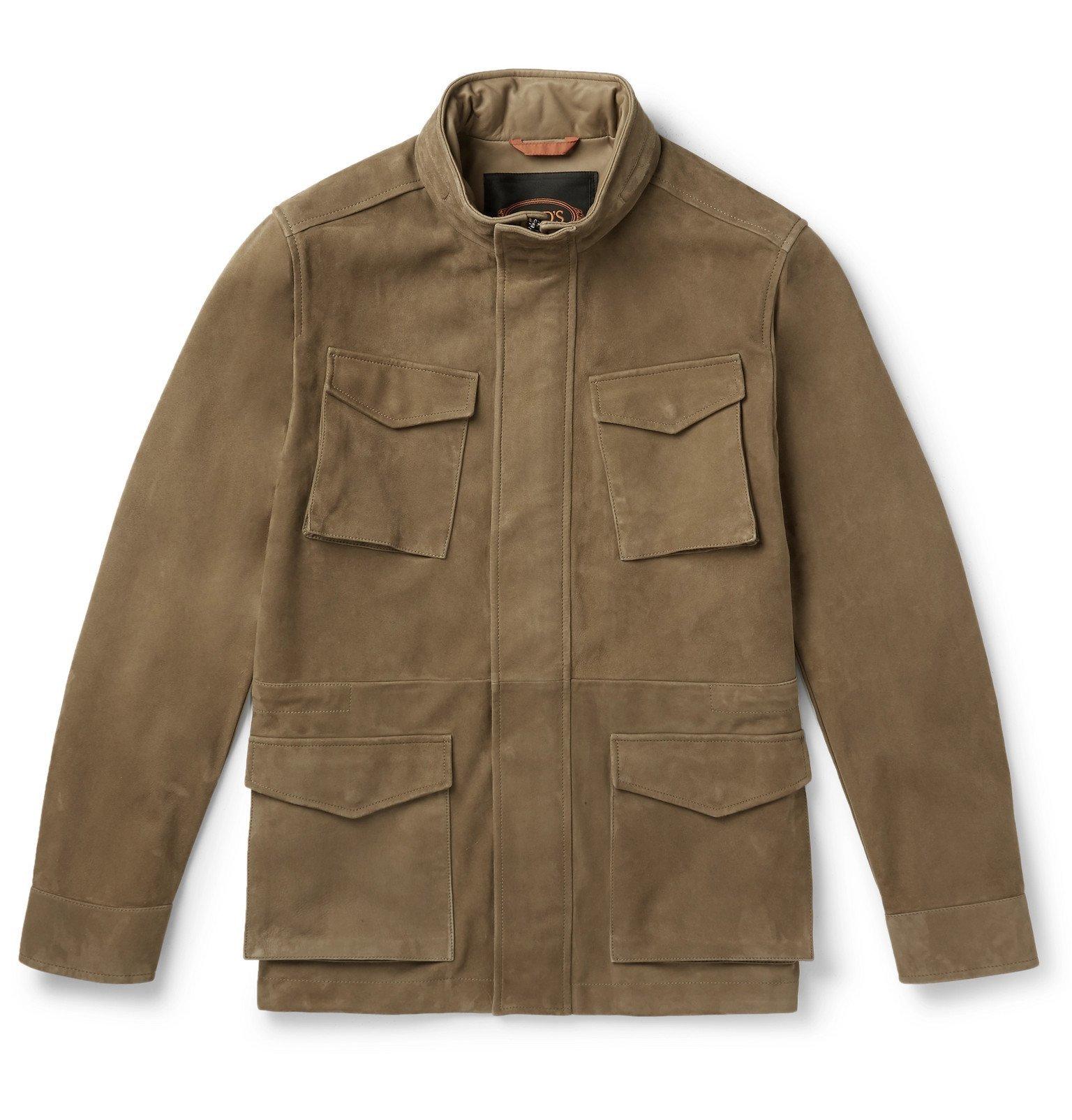 Photo: Tod's - Suede Field Jacket - Neutrals