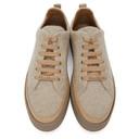 Max Mara Beige Cashmere Tunny Sneakers