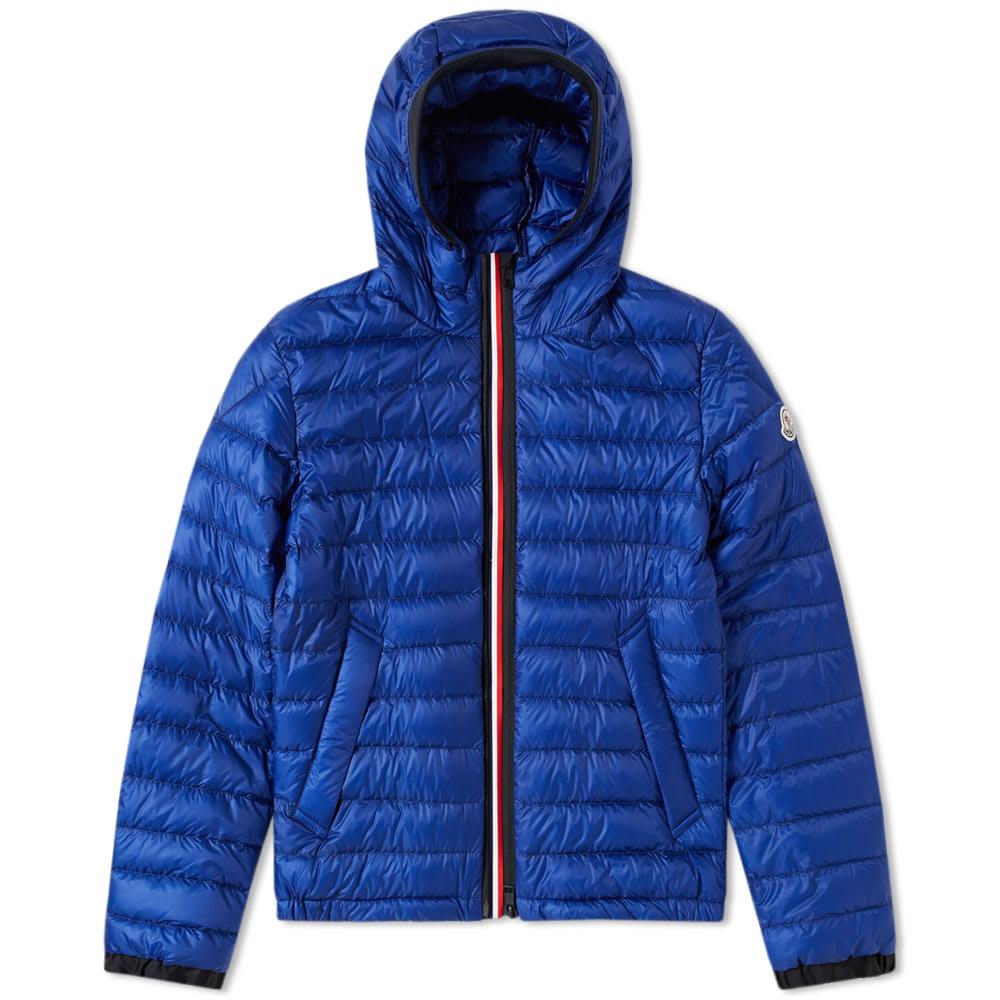 Photo: Moncler Morvan Double Zip Tricolour Placket Jacket