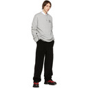 Raf Simons Black Corduroy Wide Fit Trousers
