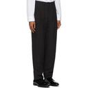 Giorgio Armani Navy Crepe Upton Trousers