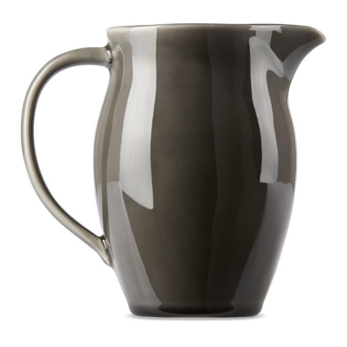 Photo: KINTO Grey Atelier Tete Edition Porcelain Pitcher, 1 L