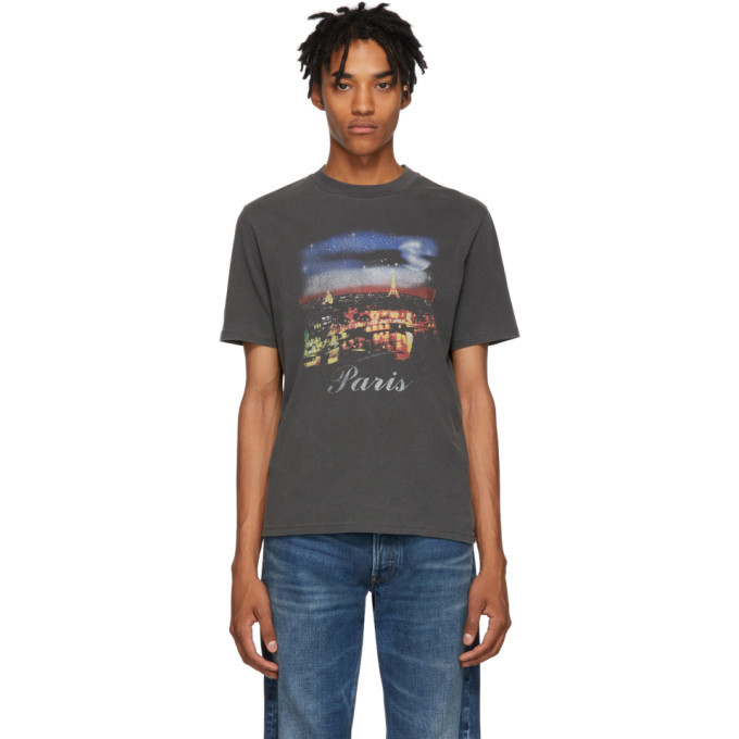 Photo: Balenciaga Black Paris T-Shirt