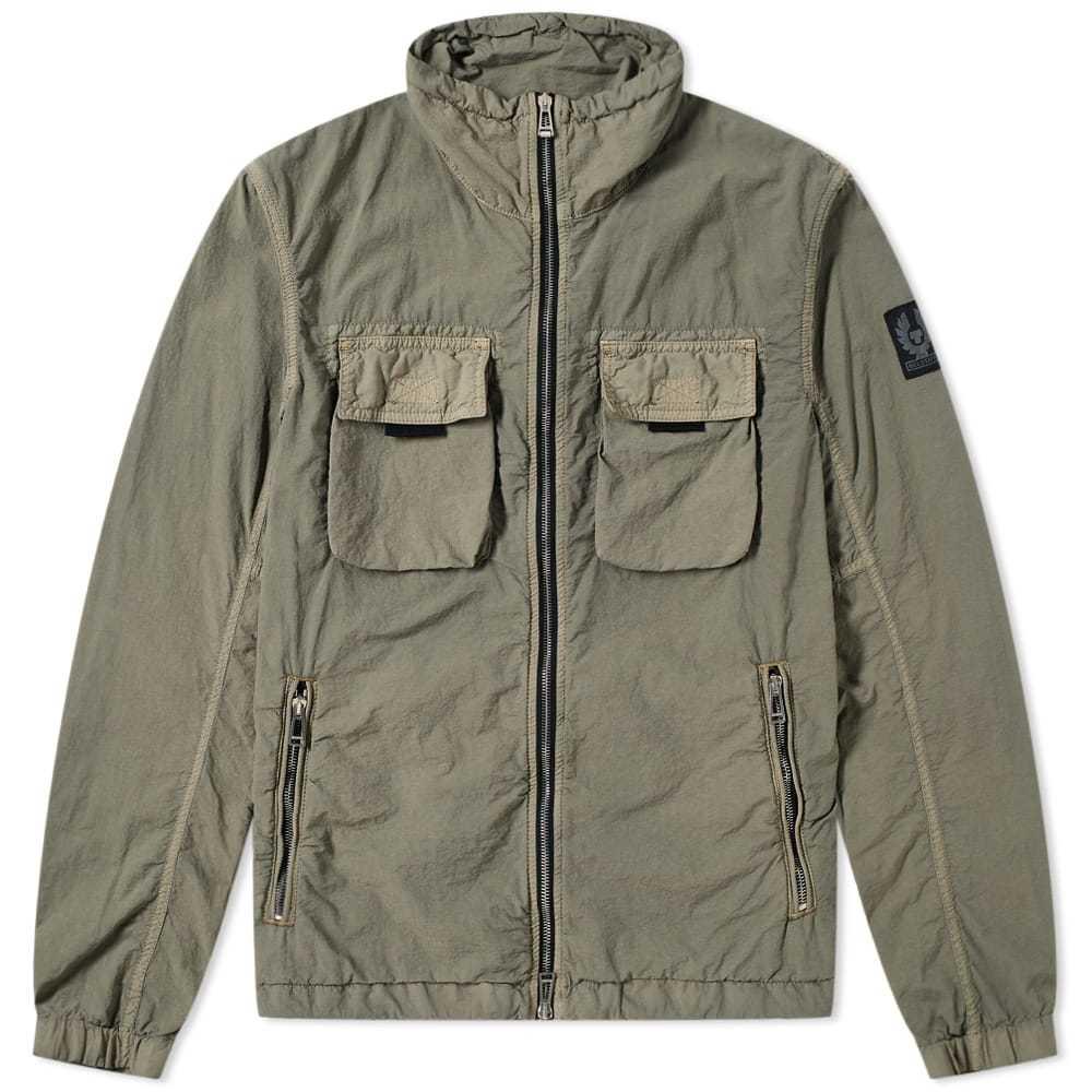Belstaff Pandeen Garment Dyed Zip Blouson