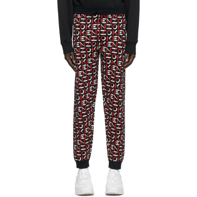 Photo: Kenzo Navy Monogram Lounge Pants
