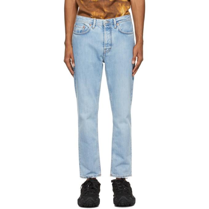 Photo: Acne Studios Blue Slim Tapered Jeans