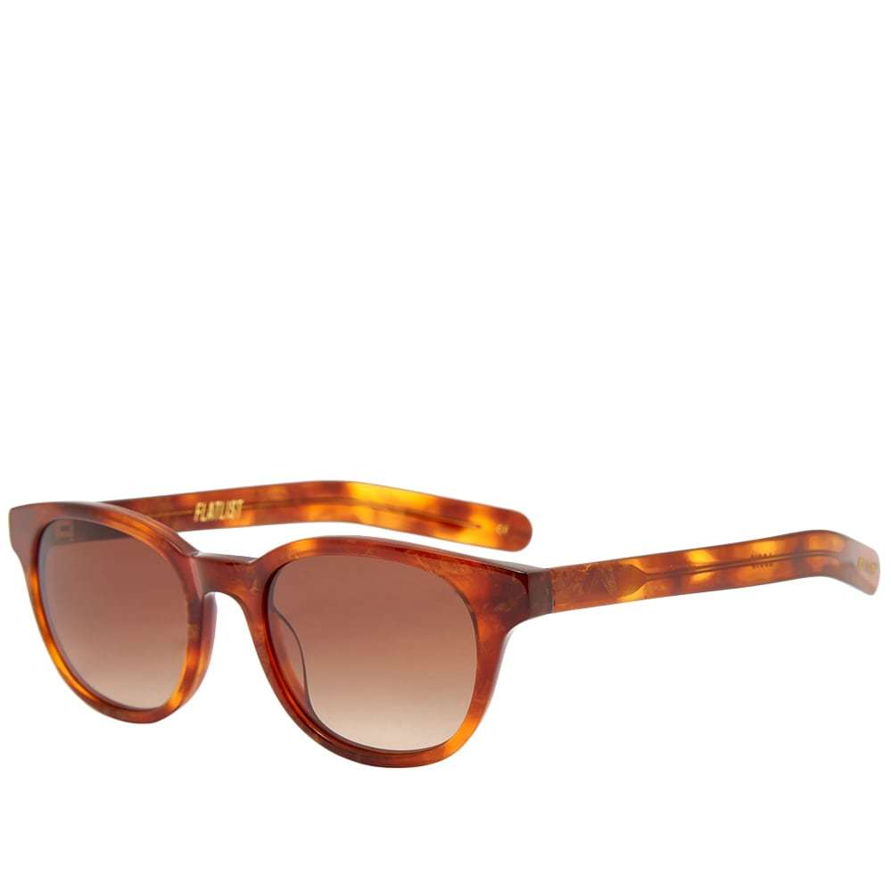Photo: Flatlist Logic Sunglasses Shimmery & Brown Gradient