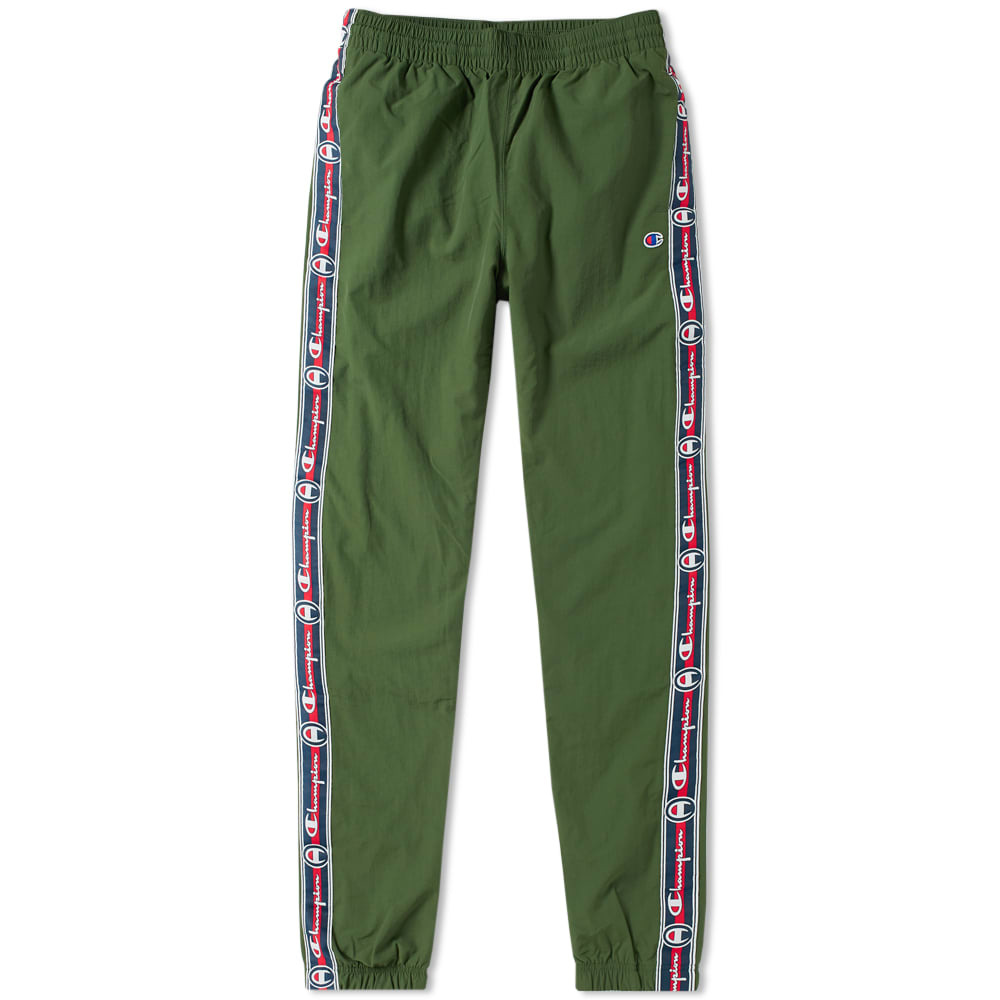 Photo: Champion Reverse Weave Corporate Taped Track Pant