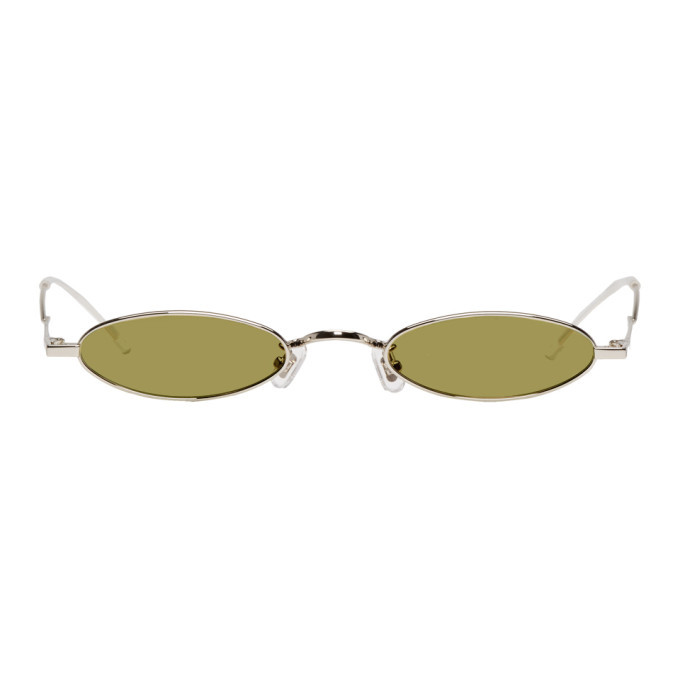 Silver and Yellow Kujo Sunglasses Gentle Monster AKjl6bPhH