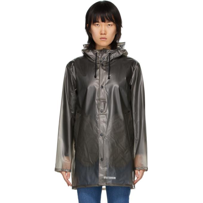 Photo: Stutterheim Grey Transparent Raincoat
