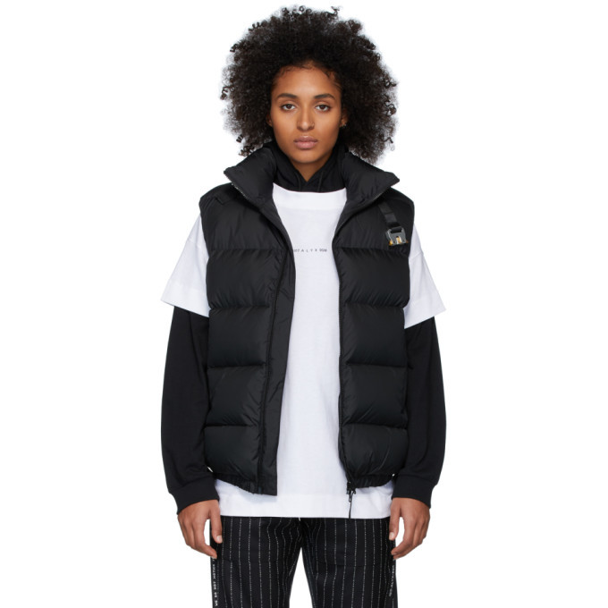 Photo: 1017 ALYX 9SM Black Down Buckle Puffer Vest
