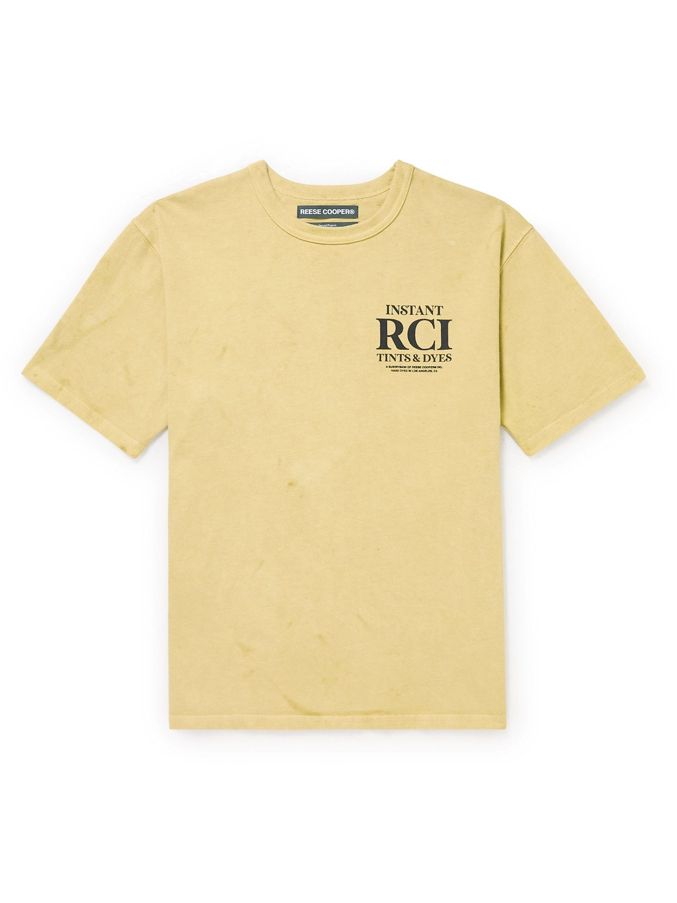 Photo: Reese Cooper® - Printed Cotton-Jersey T-Shirt - Multi