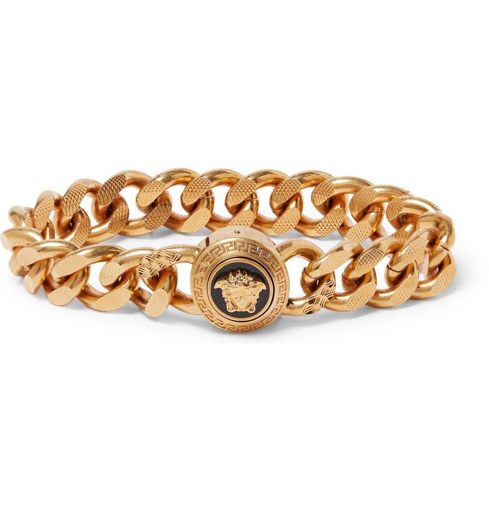 Photo: Versace - Gold-Tone Bracelet - Gold