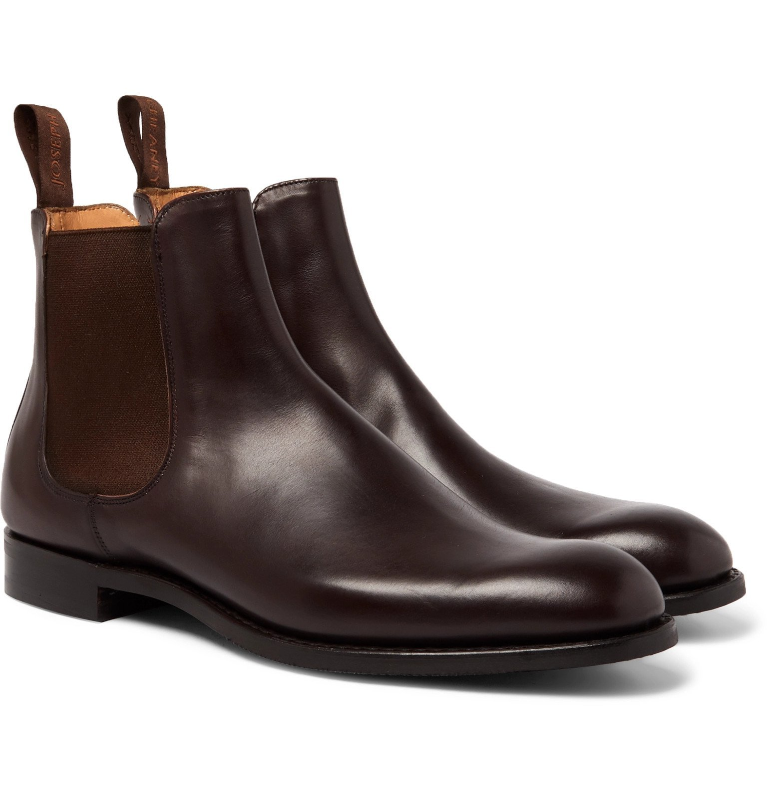 Photo: Cheaney - Godfrey Leather Chelsea Boots - Brown