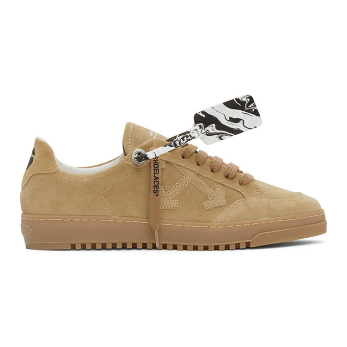 Photo: Off-White Beige Low 2.0 Sneakers