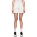 Stella McCartney White Shared OBS 23 Contrast Stitch Shorts