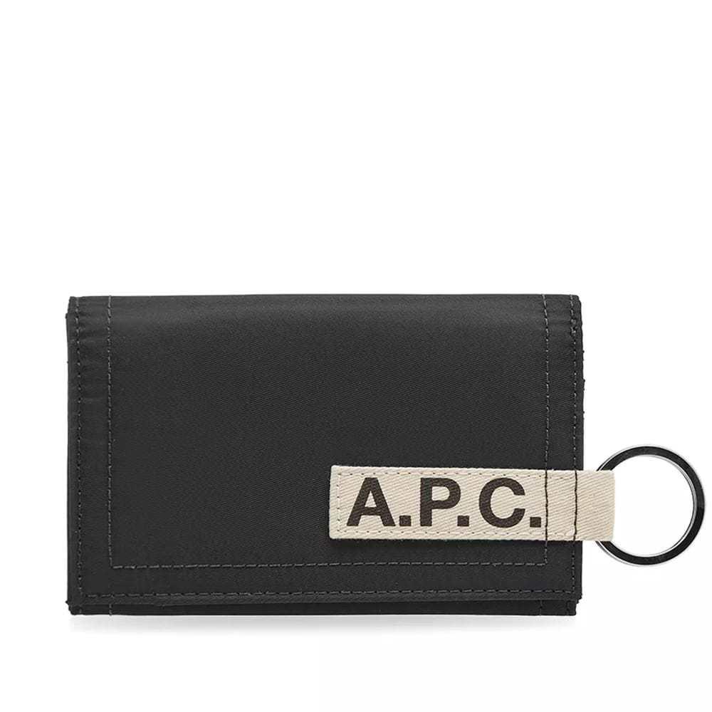 Photo: A.P.C. Pozzo Nylon Tape Logo Wallet